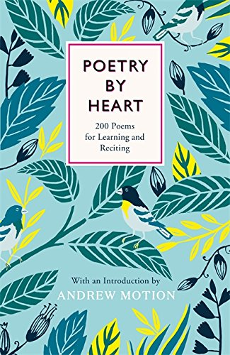 Poetry Book Cover Review : Poetry by heart publishing