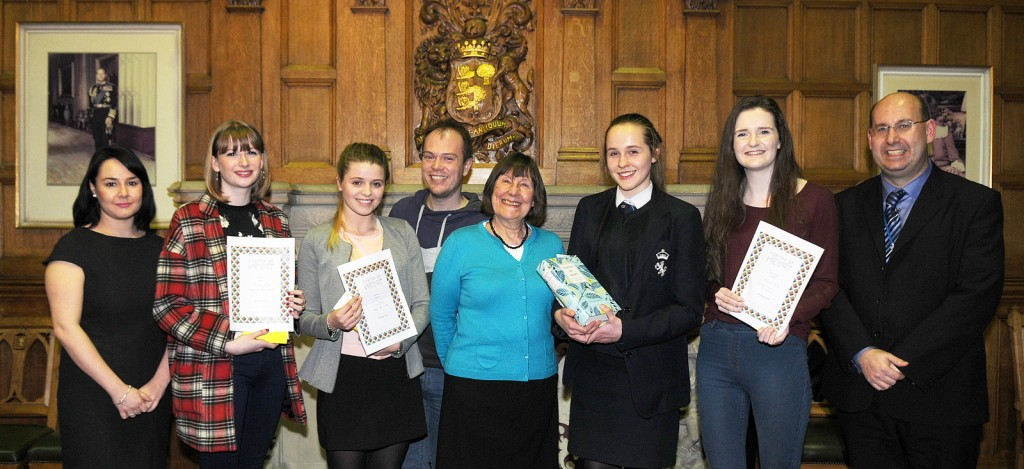 Poetry By Heart 2015 The Cheshire County Contest at Chester Town Hall