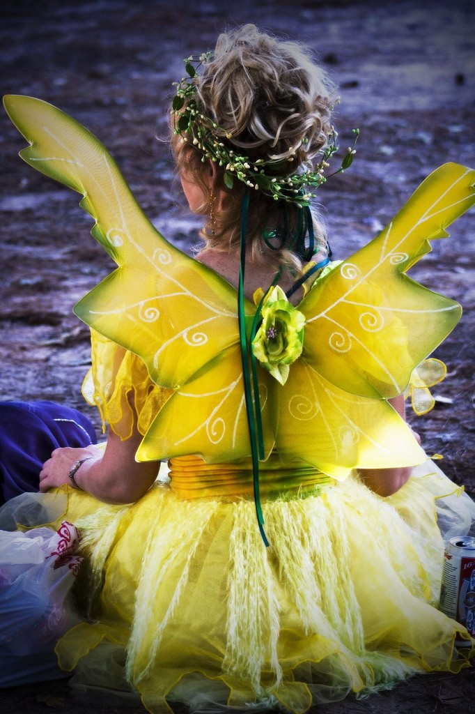 'The Yellow Fairy (21st Century Version)' by Elaine flickr Creative Commons