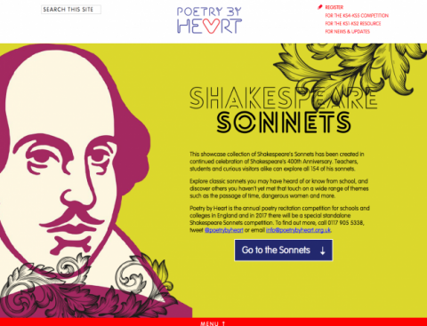 Exploring the Shakespeare Sonnets Showcase