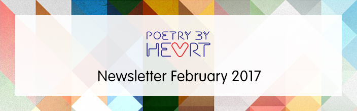 Poetry By Heart Newsletter February 2017
