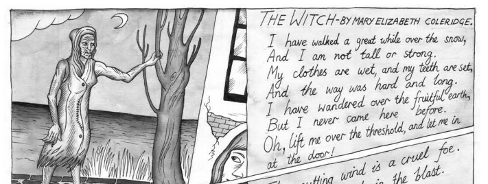 Illustrating 'The Witch': artist Ben Westley Clarke explains how he went about it